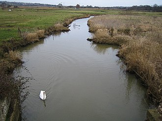 Eastern Yar - The Eastern Yar at Brading marshes