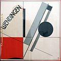 Rivista wendingen (inversioni), 1921, n. 11, copertina di El Lissitzky 01.jpg