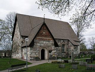 Rö Church church building in Norrtälje Municipality, Stockholm County, Sweden