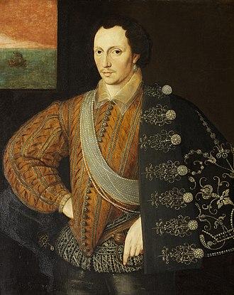 Robert Carey, 1st Earl of Monmouth - Robert Carey, 1st Earl of Monmouth, c. 1591