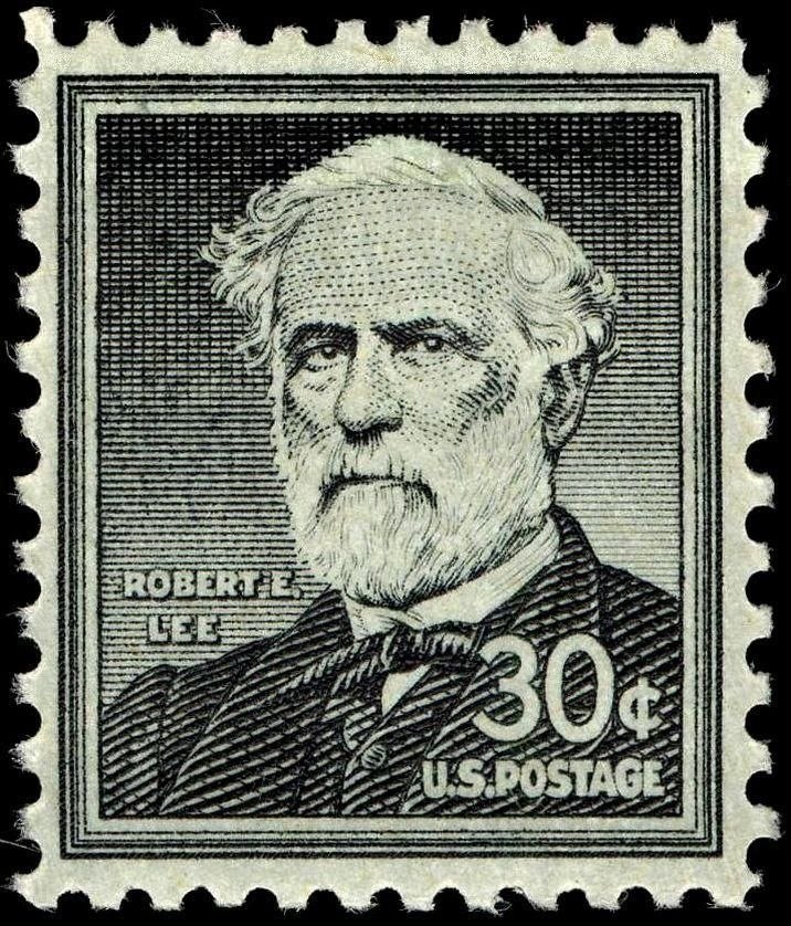 Robert E Lee 30c 1957 issue