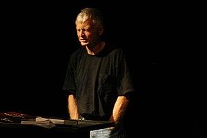 Robert Grenier (poet) - Robert Grenier speaking at Beyond Baroque Literary Arts Center, Los Angeles.