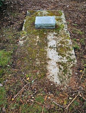 Robert Knox - Knox's grave in Brookwood Cemetery