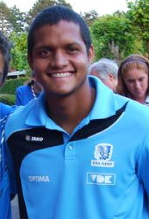 Roberto Rosales - Rosales while playing for Gent.