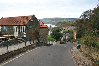 Robin Hood's Bay - New Road, leading down to the sea shore