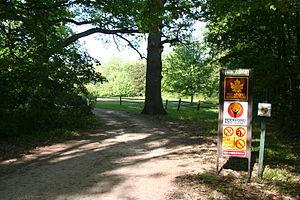 Klehm Arboretum and Botanic Garden - Entrance