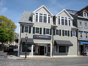 Rockport (company) - A Rockport Store in Newport, Rhode Island