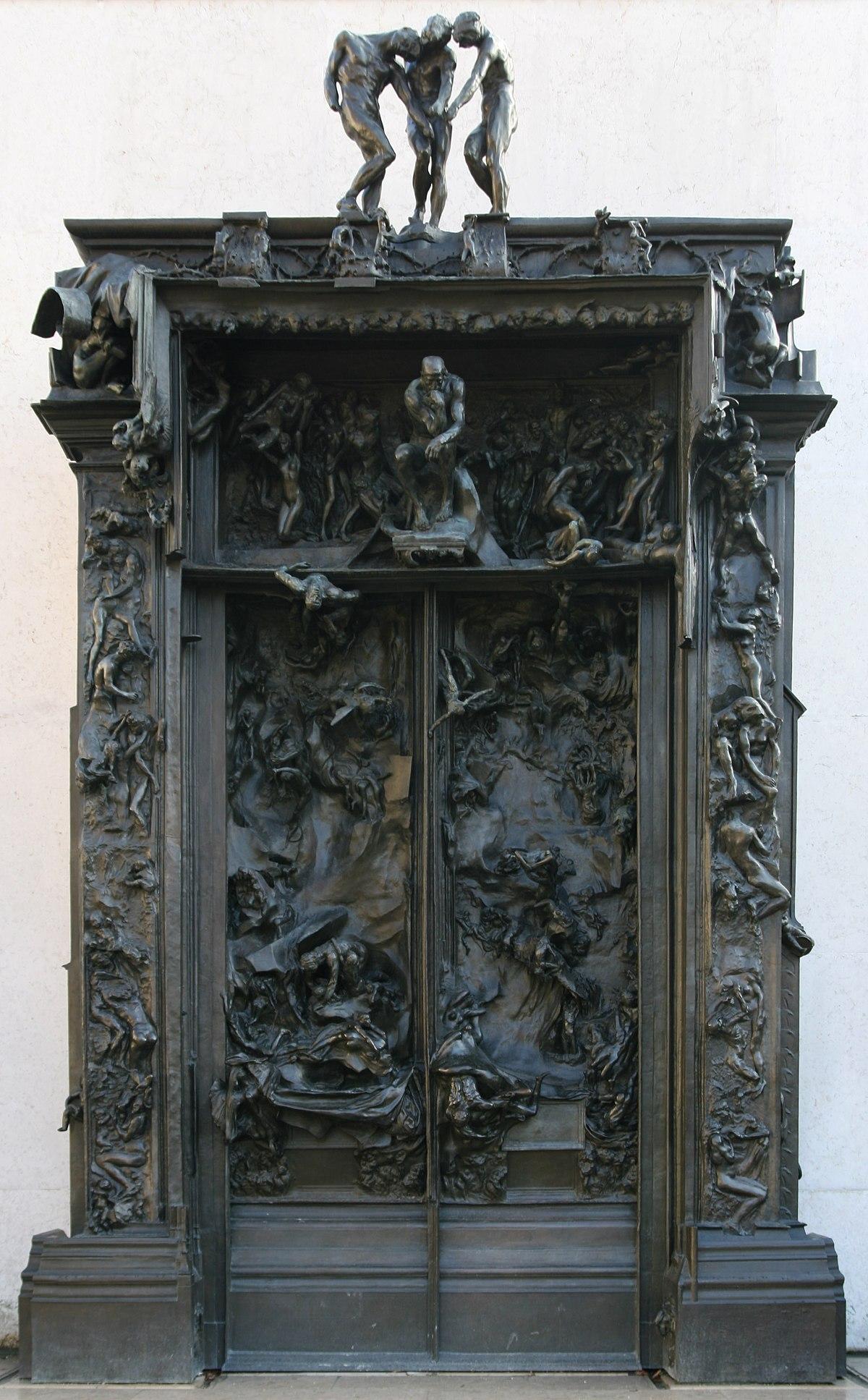 Auguste Rodin Das Höllentor