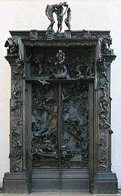 La porta dell 39 inferno rodin wikipedia for Rodin scultore