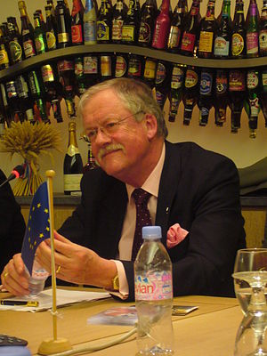 Picture of Roger Helmer MEP, speaking at the M...