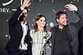 Rogue One- A Star Wars Story Japan Premiere Red Carpet- Diego Luna, Felicity Jones & Gareth Edwards (34989147783).jpg