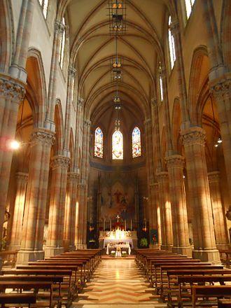 Chiesa del Sacro Cuore del Suffragio - Interior