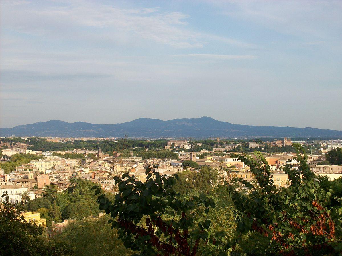 File Roma 2011 08 15 Castelli Romani Dal Gianicolo Jpg