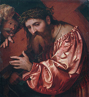 Romanino -  Romanino, Christ Carrying the Cross
