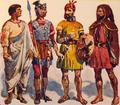 Romanos e Lusitanos (Roque Gameiro, Quadros da História de Portugal, 1917).png