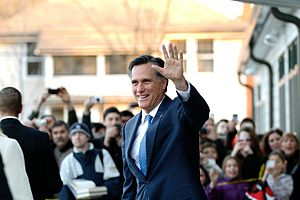 Public image of Mitt Romney - Former 2008 and 2012 U.S. Presidential candidate Mitt Romney