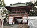 Romon Gate of Kitaoka Shrine from inner side.jpg