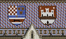 Roof of St, Mark's Church, Zagreb.jpg