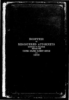 Roster of Registered U.S. Patent Attorneys 1903 (revised).pdf