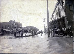 Roswell, New Mexico - Roswell flood
