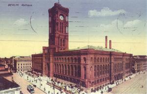 Hermann Friedrich Waesemann - The Rotes Rathaus in Berlin
