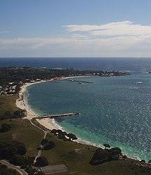 Rottnest Island-European exploration and settlement-Rottnest Thomson Bay