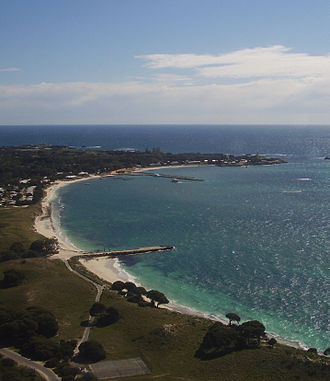 Rottnest Island - The island's main settlement is located at Thomson Bay