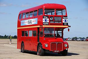 Routemaster RM1063 (63 CLT), 2010 North Weald bus rally.jpg