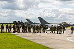Royal Marines, commando assault demo, Aeronavale Rafale M (28167970660).jpg