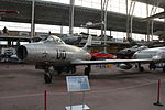 Royal Military Museum, Brussels - Dassault MD-450 Ouragan (11449015126).jpg