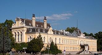 Friedrich Grünanger - The former royal palace in Sofia
