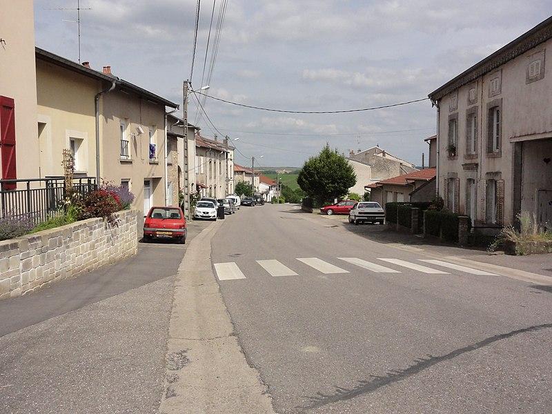 Rozelieures (M-et-M) la Rue Haute