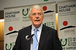 Rt Hon Sir John Major KG CH, Co-President, Chatham House; Prime Minister of the United Kingdom (1990-97) (15477592265)