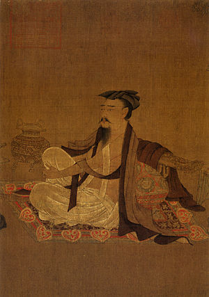 Six Dynasties poetry - Possible representation of Ruan Ji. Attributed to Sun Wei, second half of 9th century.
