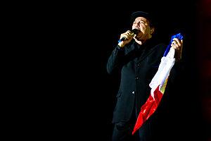 Rubén Blades - Blades performing.