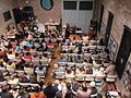Ruby Bridges Hall crowd from balcony.JPG