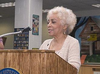 Ruby Dee - Dee speaking in 2006