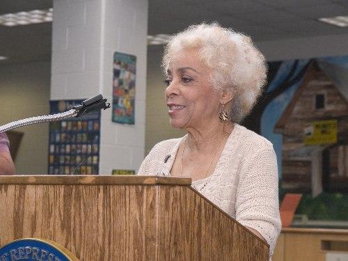 Ruby Dee speaking