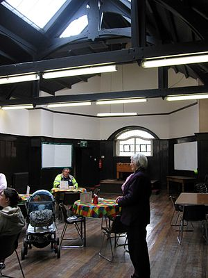 Ruchill Church Hall - Tea Room in the main hall