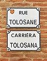 Rue Tolosane (Toulouse) - Plaques.jpg