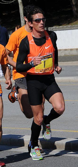 Rui Silva (athlete) - Silva in 2010