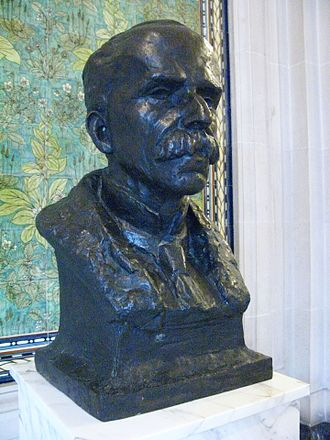 Revolt of the Lash - Bust of Rui Barbosa in the Hague