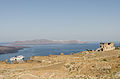 Ruin near Fira - Thirassia - cruise ship - Santorini - Greece.jpg