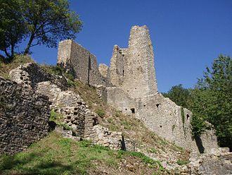 Schenkenberg Castle - Image: Ruine Schenkenberg