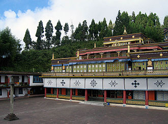 Karmapa controversy - Rumtek Monastery