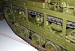 Running gear detail, Cletrac M2 High Speed Tractor, The American Air Museum, Imperial War Museum, Duxford. (22849171468).jpg