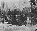 Russischer Photograph - Jagdpartie bei der Mittagspause (Zeno Fotografie).jpg