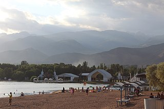 Cholpon-Ata,  Issyk-Kul, Kyrgyzstan