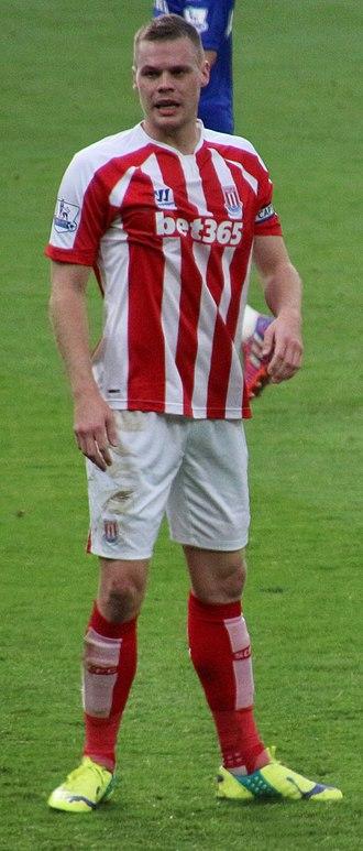 Ryan Shawcross - Shawcross playing for Stoke City in 2015