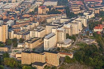 Luftfoto fra sydvest.